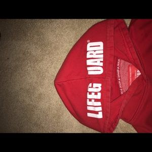 Other - Kids large life guard hoodie